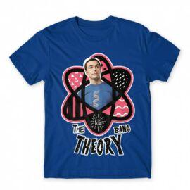 Agymenők férfi rövid ujjú póló - Atomic Sheldon
