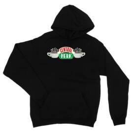 Jóbarátok unisex kapucnis pulóver - Central Perk Logo