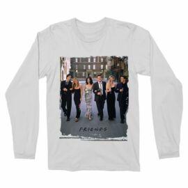 Jóbarátok férfi hosszú ujjú póló - Friends Poster