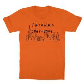 Jóbarátok gyerek rövid ujjú póló - Friends city