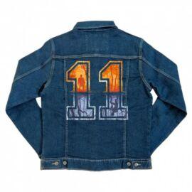 Stranger Things unisex farmer kabát - Eleven Numbers