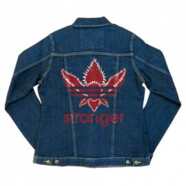 Stranger Things női farmer kabát - Stranger Adidas