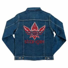 Stranger Things unisex farmer kabát - Stranger Adidas