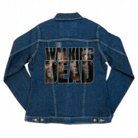 The Walking Dead női farmer kabát - Photo