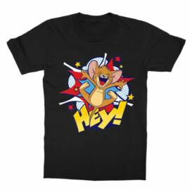 Tom és Jerry gyerek rövid ujjú póló - Hey