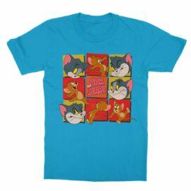 Tom és Jerry gyerek rövid ujjú póló - Retro