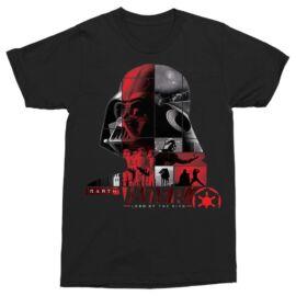 Star Wars férfi rövid ujjú póló - Lord of the Sith