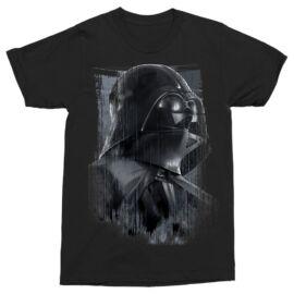 Star Wars Darth Vader férfi rövid ujjú póló - Fekete színben