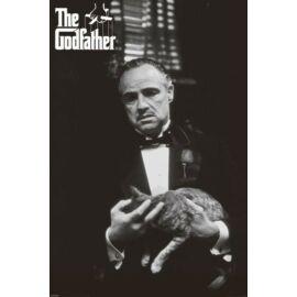 A Keresztapa plakát - A macskával