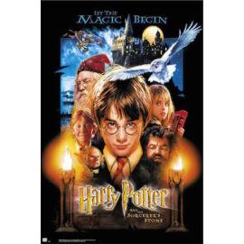 Harry Potter és a bölcsek köve plakát