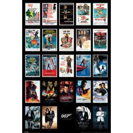 James Bond moziplakátok mozaik plakát
