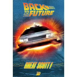Vissza a jövőbe plakát - Great Scott!