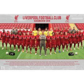 Liverpool FC plakát - A csapat  2018/2019