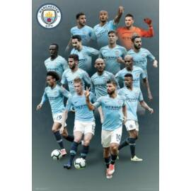 Manchester City plakát - A csapat 2018/2019
