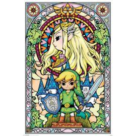 Legend Of Zelda plakát - Stained Glass