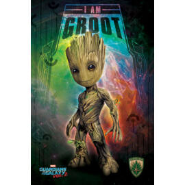 A galaxis őrzői vol. 2 plakát - I am Groot