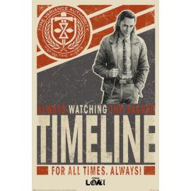 Loki plakát - Timeline