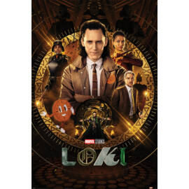 Loki plakát - Glorious Purpose