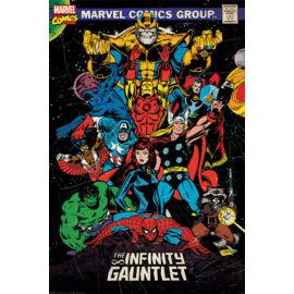 Marvel Comics plakát - The Infinity Gauntlet