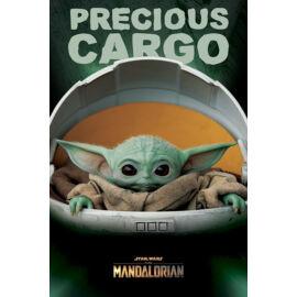 Star Wars: The Mandalorian Baby Yoda plakát - Precious Cargo