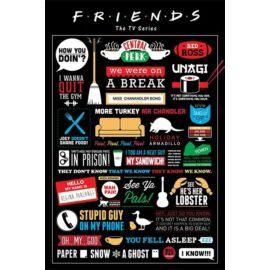 Jóbarátok plakát - Infografika