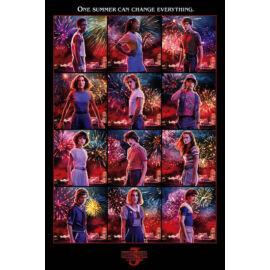 Stranger Things 3. plakát - Karakterek