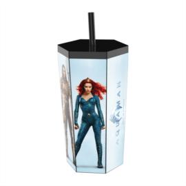 Aquaman hatszögletű pohár