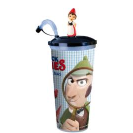 Sherlock Gnomes pohár, Júlia topper és popcorn tasak