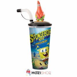 SpongyaBob: Spongya szökésben pohár és Csillag Patrik topper