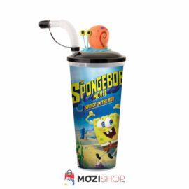SpongyaBob: Spongya szökésben pohár és Csigusz topper