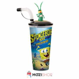SpongyaBob: Spongya szökésben pohár és Plankton topper