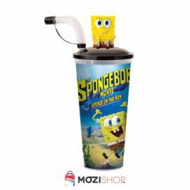 SpongyaBob: Spongya szökésben pohár és SpongyaBob topper