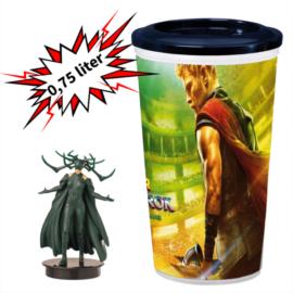 Thor: Ragnarök pohár és Hela topper