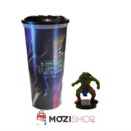 Tini Nindzsa Teknőcök pohár és Michelangelo topper