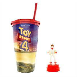 Toy Story 4 pohár és Duke Caboom topper