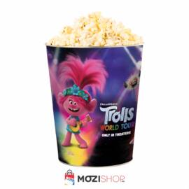Trollok a világ körül popcorn vödör