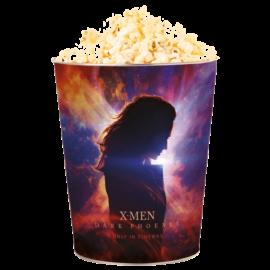 X-Men: Sötét Főnix dombornyomott popcorn vödör