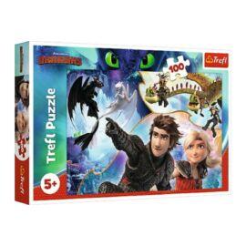 Így neveld a sárkányodat 3. puzzle - 100 db-os