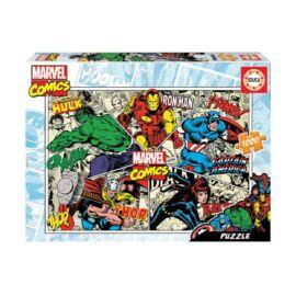 Marvel szuperhősei puzzle - 1000 db-os + Puzzle fix ragasztó