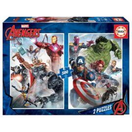 Marvel Bosszúállók puzzle 2X500 darabos