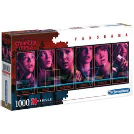 Stranger Things puzzle - 1000 db-os panoráma puzzle