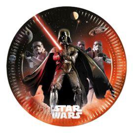 Star Wars papírtányér 23 cm 8 db-os szett - Darth Vader és rohamosztagosok
