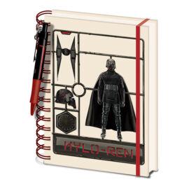 Star Wars: Skywalker kora jegyzetfüzet tollal - Kylo Ren