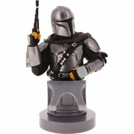 Star Wars The Mandalorian Fejvadász telefon és konzol kontroller tartó figura töltéshez