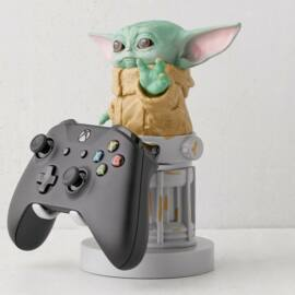 Star Wars The Mandalorian Baby Yoda telefon és konzol kontroller tartó figura töltéshez