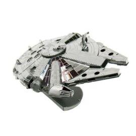 Metal Star Wars Millennium Falcon űrhajó - lézervágott acél makettező szett