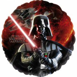 Star Wars fólia lufi - Darth Vader - 43 cm-es