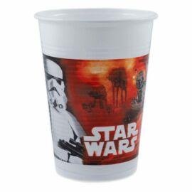 Star Wars műanyag pohár 8 db-os szett