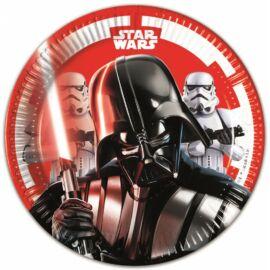 Star Wars papírtányér 20 cm 8 db-os szett - Darth Vader és rohamosztagos