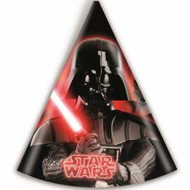 Star Wars party kalap, csákó 6 db-os szett